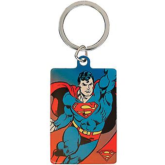 DC Comics Superman metal nøglering