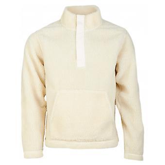 Albam Curley Snap kaula Pullover fleece