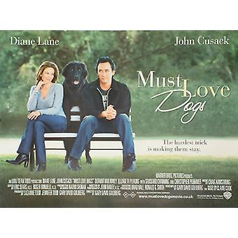 Must Love Dogs (Double Sided) Original Cinema Poster