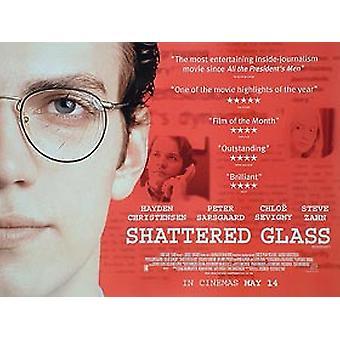 Shattered Glass Original Cinema Poster