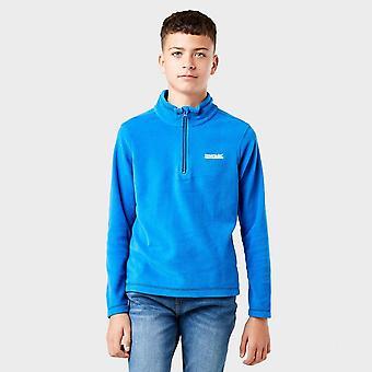 Nowe regaty Boys' Hot Shot II Half Zip Fleece Blue