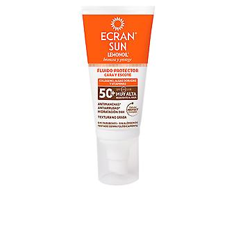 Ecran Sonne Lemonoil Cara & eine Spf50 + Fluido Solar 50 Ml für Damen