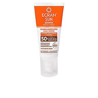 Ecran Sun Lemonoil Cara & Escote Spf50+ Fluido Solar 50 Ml For Women