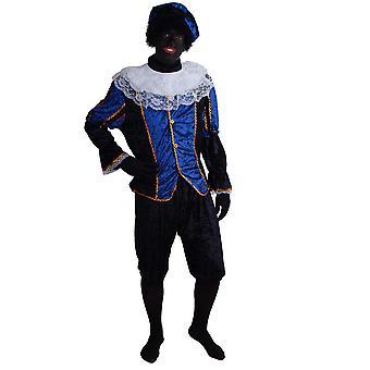 Hombres trajes de terciopelo traje Deluxe