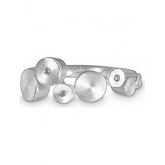 QUINN - Ring - Damen - Silber 925 - Wess. (H)si. - Weite 54 - 0218965