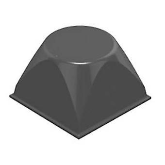 3M 7000001889 noha štvorec čierna (š x H) 20,6 mm x 13,2 mm 1 ks (s)
