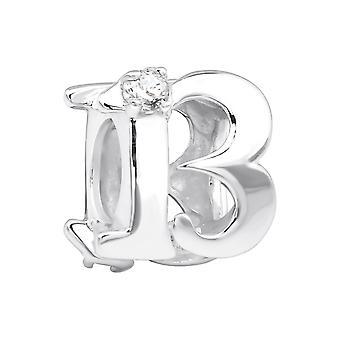 Nummer 13-925 Sterling Silber jeweled Perlen - W3653X