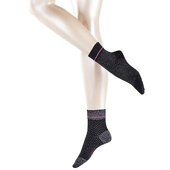 Esprit Nice Stripe and Dot 2-Pack Socks - Black