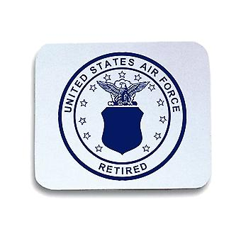 Tappetino mouse pad bianco wtc0823 usa airforce