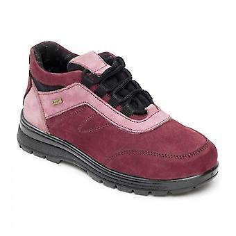 Padders القفز السيدات للماء الجلد اضافية واسعة (2e/3e) الأحذية البرقوق