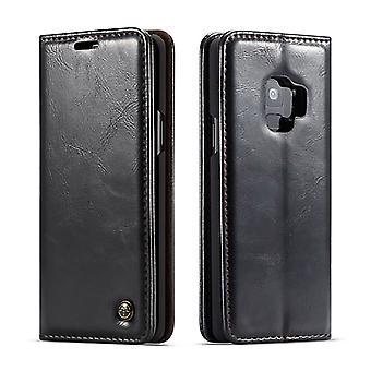 Case voor Samsung Galaxy S9 Black Card Holder
