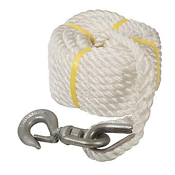 Gin Wheel Rope with Hook - 20mx18mm
