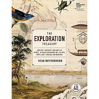 Exploration Treasury The  with Royal Geographical Society by Beau Riffenburgh