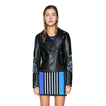 Desigual Women's Naomi Faux Leather Jacket