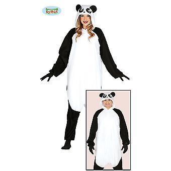 Costume da Guirca Panda per orso unisex adulto animale costume di Carnevale