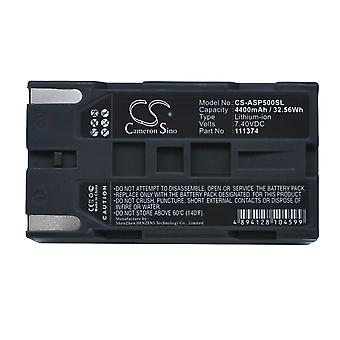 Battery for Ashtech 111374 ProFlex 500 800 GNSS ProMark 500 800 Survey Equipment