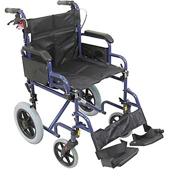 Aidapt rolstoel blauw - opvouwbaar