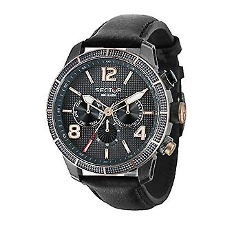 Sector watch Analog quartz men's watch with leather R3251575013