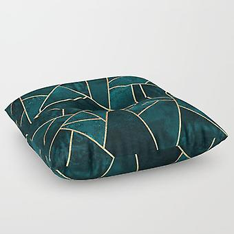 Abstrakti kivilattia tyyny