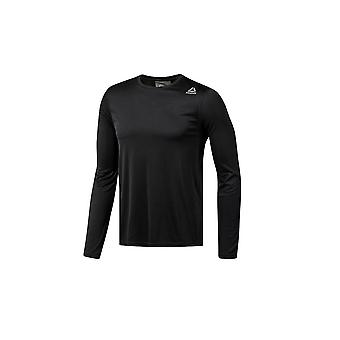 Reebok Run LS Tee D92331 universal all year men t-shirt