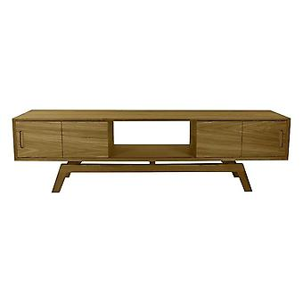 Fusion Living Dinamarquês Large Oak Media Unit