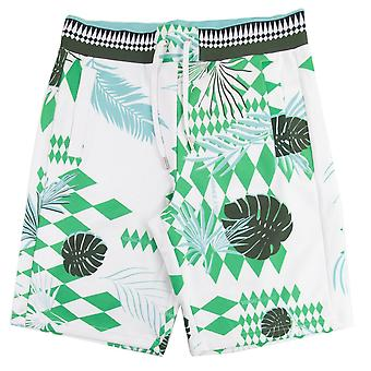 Versace Jeans Neoprene Optical Shorts White