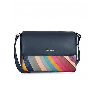 Paul Smith Accessories Colour Block Swirl Crossbody Bag