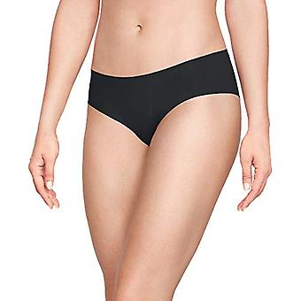 Under Armour Women's Pure Stretch Hipster 3, Black/Black/Black, Size X-Small