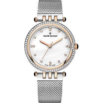 Claude Bernard - Wristwatch - Women - Dress Code Quartz - 20085 357RM NAPR