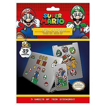 Super Mario - Autocollants 39x