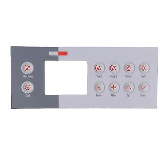 Gecko GK9916100761 10 Keys Overlay for TSC-4-10K-GE1 Topside Control