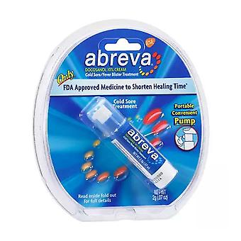 Abreva cold sore/fever blister treatment, pump, 0.07 oz