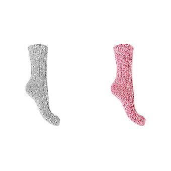 Storm Ridge Womens/Ladies Wool Blend Walking Boot Socks (1 Pair)
