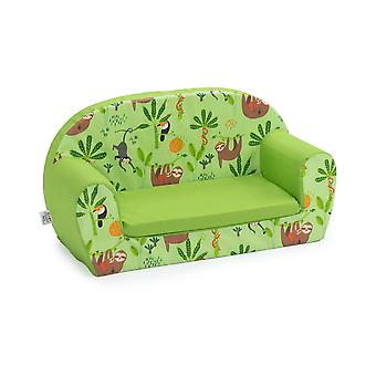 Ready Steady Bed Kids Children Mini Lounger | Kids Sofa Seat Chair | Great for Playroom kidsroom Living Room | Colourful Lightweight and Durable (Rainforest)