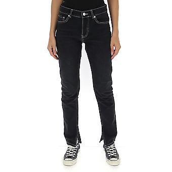 Ganni F3608055 Femmes-apos;s Jeans en coton noir