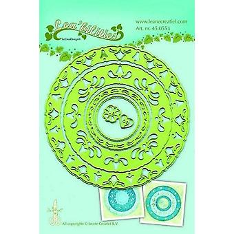 LeCrea - Lea'bilitie Frame circles Cut and Embossing Die 45.0553