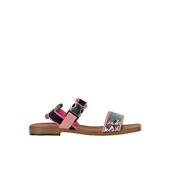 Alberto Gozzi Ezgl249020 Women's Pink Sequins Sandals