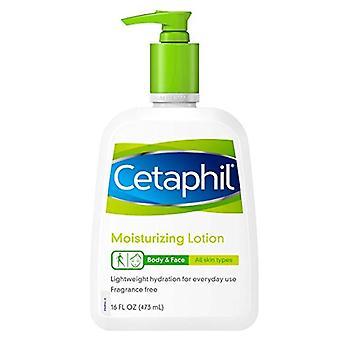 Cetaphil moisturizing lotion, fragrance free, 16 oz