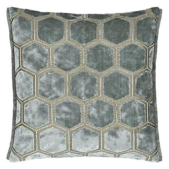 Designers Guild Manipur Cushion In Silver