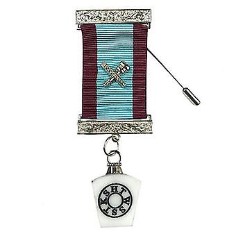 Mark degree master masons provincial breast jewel silver