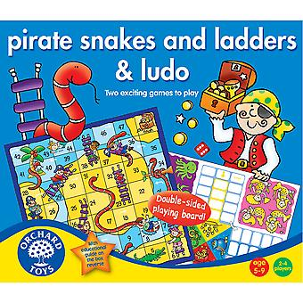 Pirate Snakes and Ladders and Ludo Games