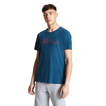 Dare 2b Mens Divide Cotton Jersey Graphic T Shirt Tee