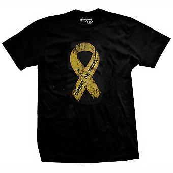 Ranger Up Veteran Support the Troops T-Shirt - Black
