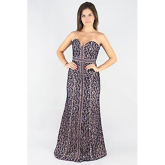 Centre stage maxi gown