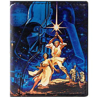 حرب النجوم محفظة تجليد معرف الأمل لوك سكاي ووكر & بطاقة جديدة