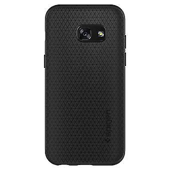 Spigen Backcover Hoesje Liquid Air Samsung Galaxy A3 (2017) - Zwart