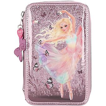 Depesche Fantasy Model Ballet Dancer Triple-tier Pencil Case With Stationery