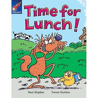 Time for Lunch: Orange Reader 2 (Rigby Star Independent)