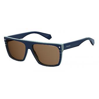 Sunglasses 6086ZX9/SP Men's Blue with Bronze Glass