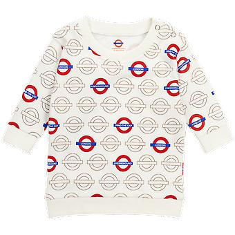 Licensed london underground mind the gap roundel baby sweatshirt new limited